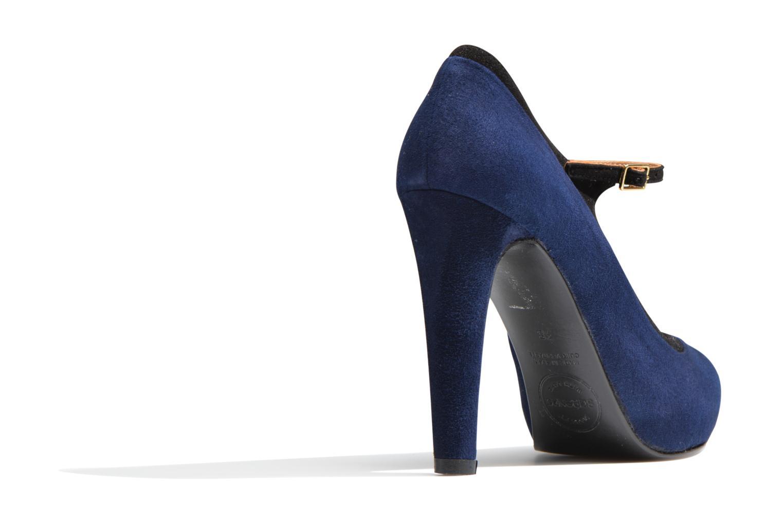 Pumps Made by SARENZA Flore Thirties #13 blau ansicht von vorne
