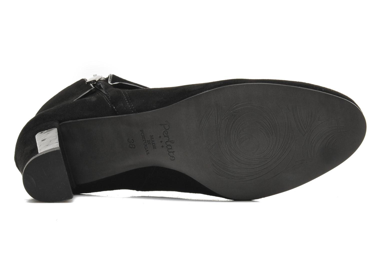 Bottines et boots Perlato Pity Noir vue haut