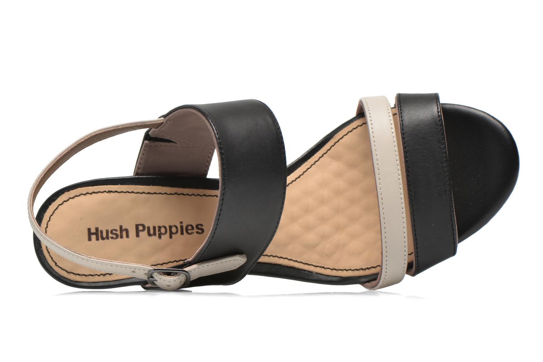 Sandalen Hush Puppies Molly Malia schwarz ansicht von links