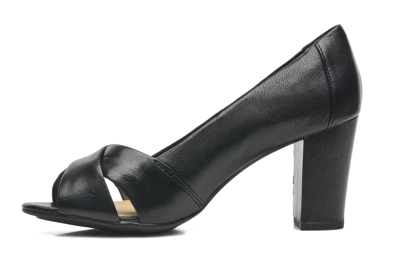 Shadell Sisany Black leather