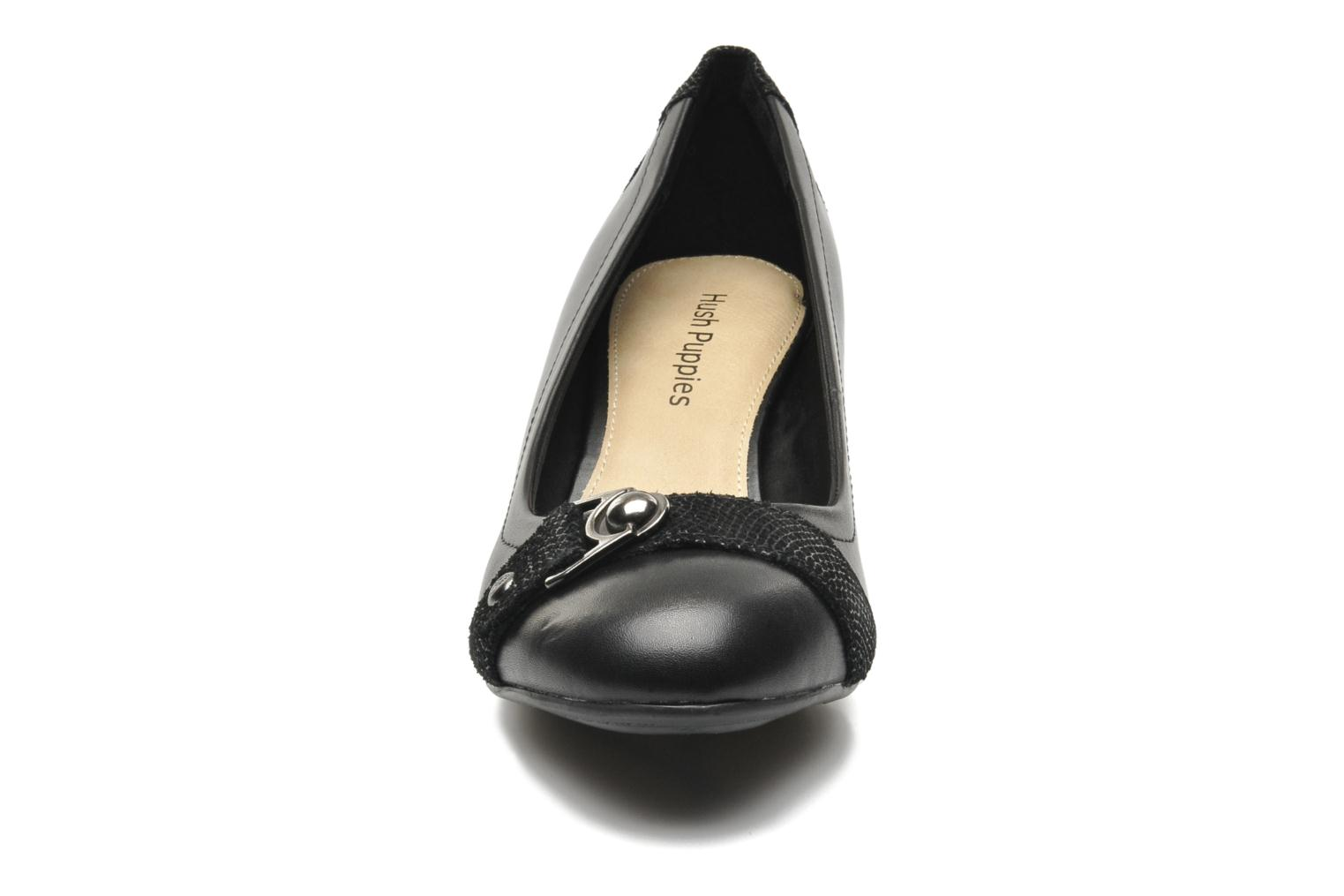 Camilla imagery Black leather