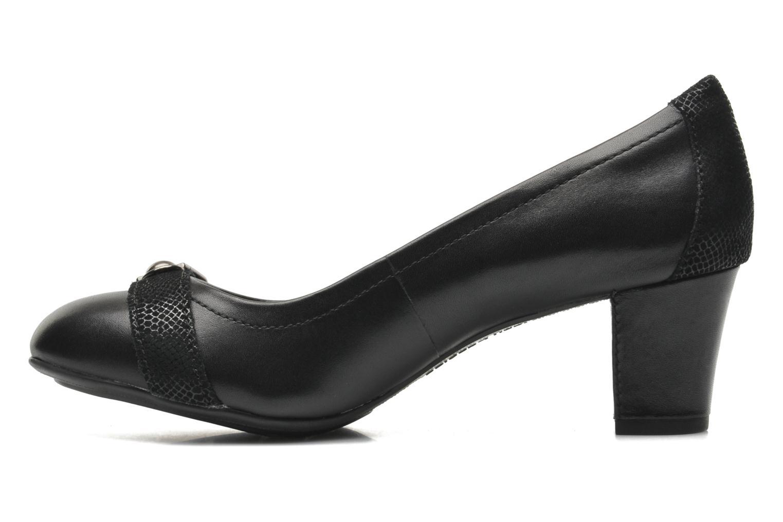 Zapatos de tacón Hush Puppies Camilla imagery Negro vista de frente