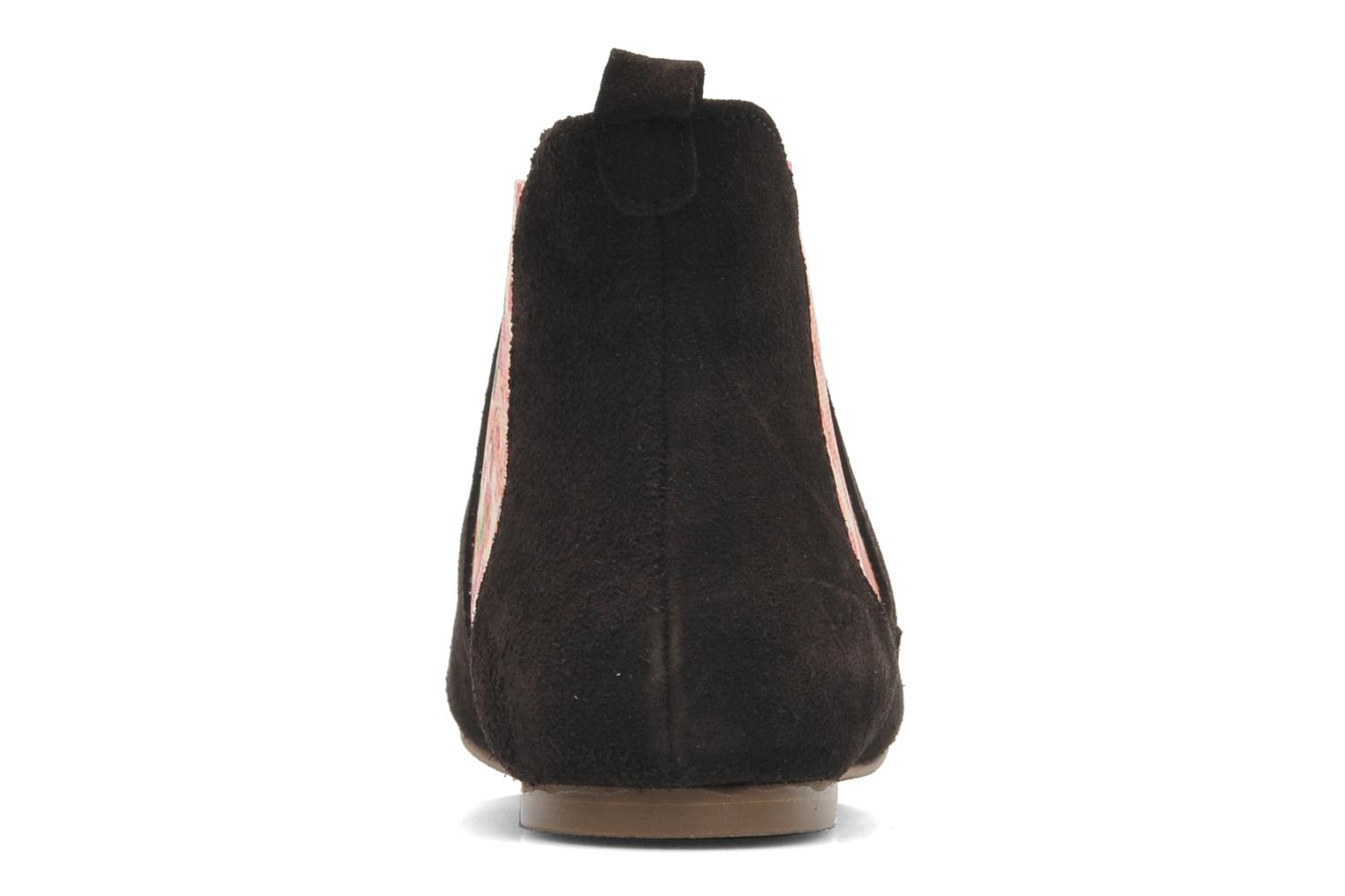 Ankle boots Ippon Vintage sun flower Brown view from the right
