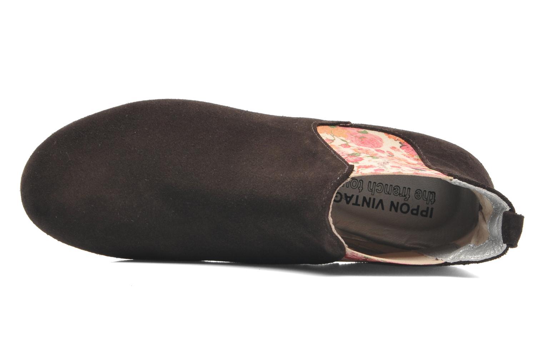 Bottines et boots Ippon Vintage sun flower Marron vue gauche