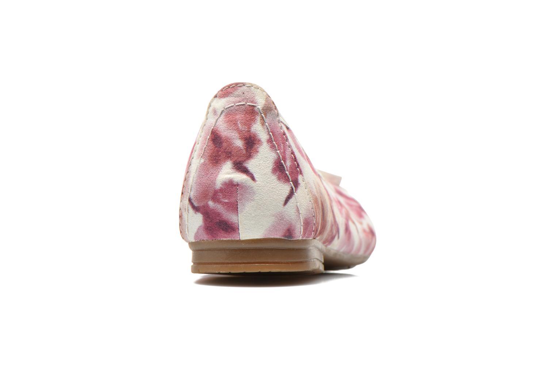Ballerines Jana shoes Lila Rose vue droite