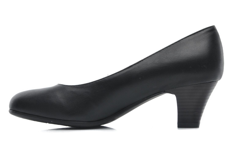 Zapatos de tacón Jana shoes Anis Negro vista de frente
