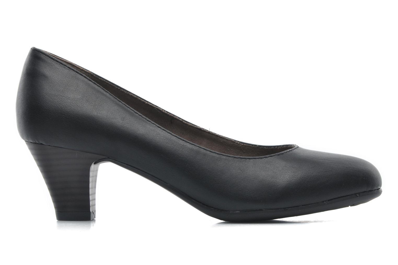 Pumps Jana shoes Anis Zwart achterkant