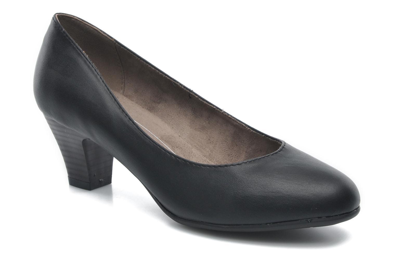 Pumps Jana shoes Anis Zwart detail