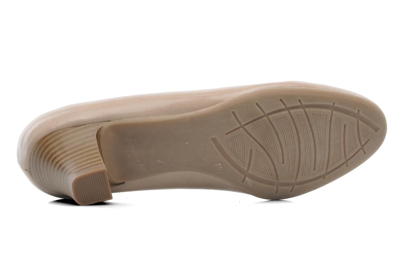 Pumps Jana shoes Anis beige ansicht von oben