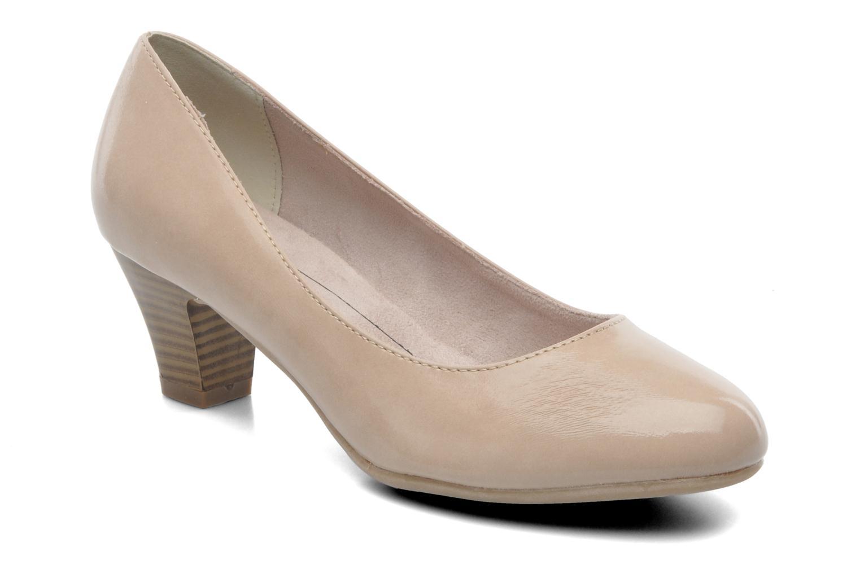 Høje hæle Jana shoes Anis Beige detaljeret billede af skoene