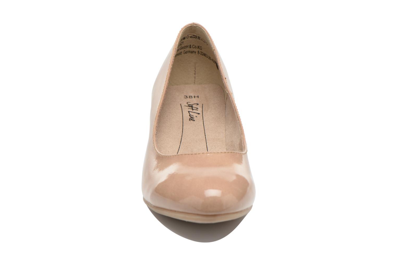 Escarpins Jana shoes Anis Beige vue portées chaussures