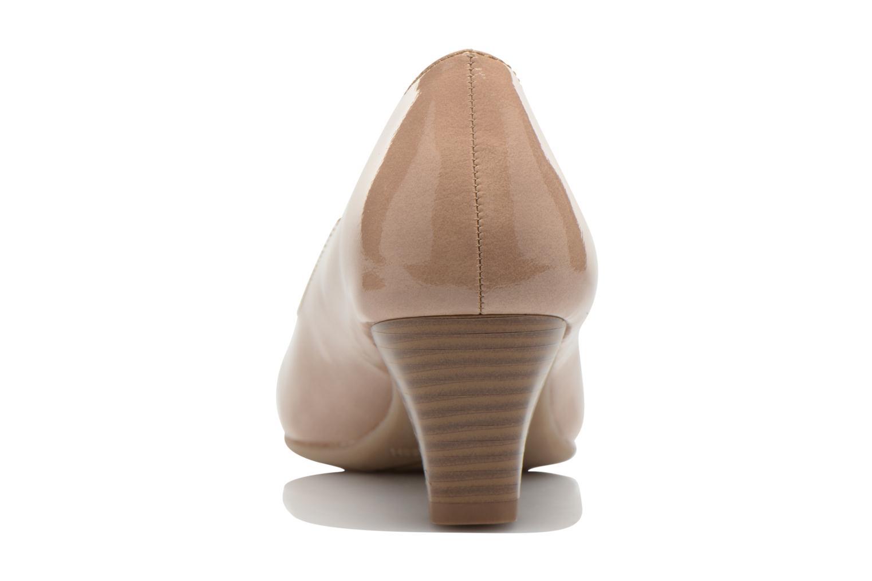 Escarpins Jana shoes Anis Beige vue droite
