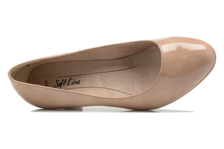 Escarpins Jana shoes Anis Beige vue gauche