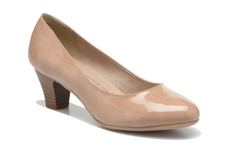 Escarpins Jana shoes Anis Beige vue détail/paire