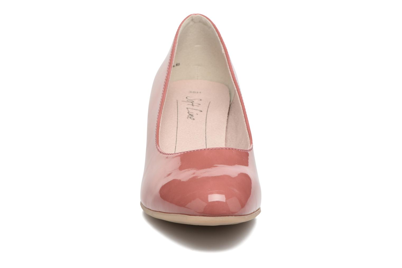 High heels Jana shoes Anis Pink model view