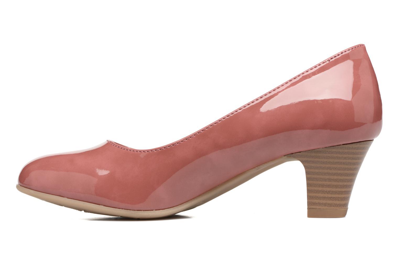 Zapatos de tacón Jana shoes Anis Rosa vista de frente