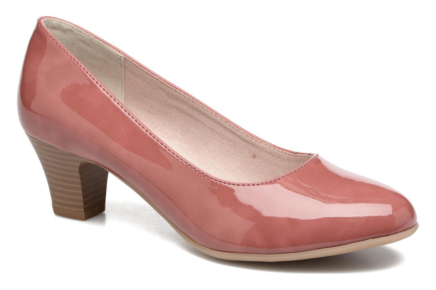High heels Jana shoes Anis Pink detailed view/ Pair view