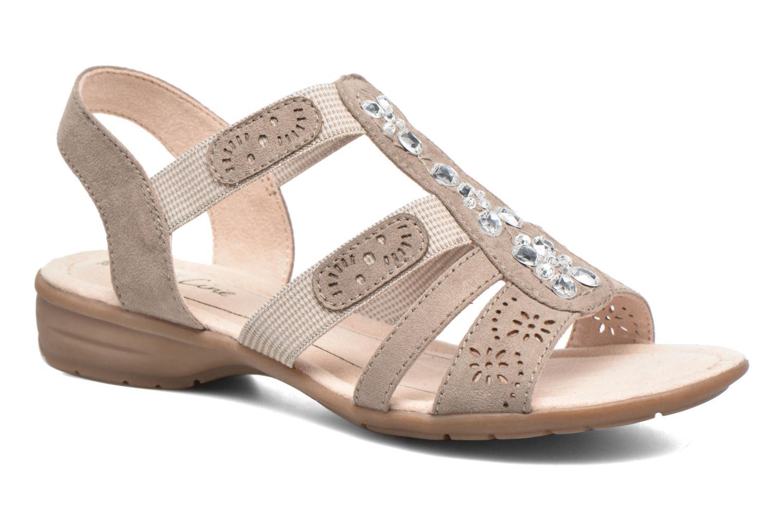 Sandalias Jana shoes Helen Beige vista de detalle / par