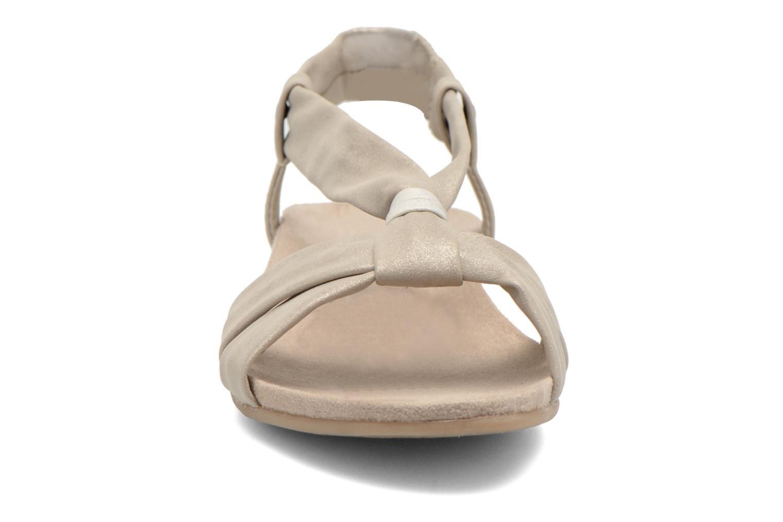 Sandales et nu-pieds Jana shoes Jana Beige vue portées chaussures
