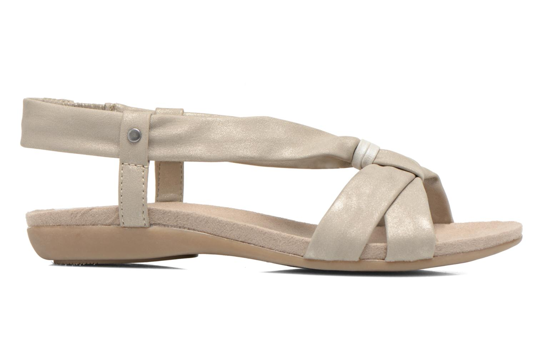 Sandales et nu-pieds Jana shoes Jana Beige vue derrière