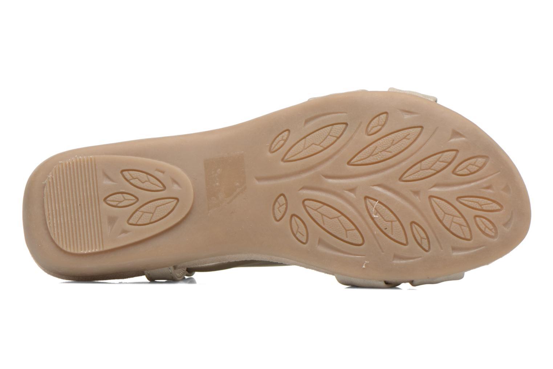Sandales et nu-pieds Jana shoes Jana Beige vue haut