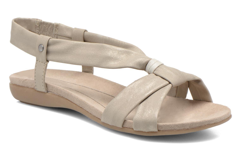 Sandales et nu-pieds Jana shoes Jana Beige vue détail/paire