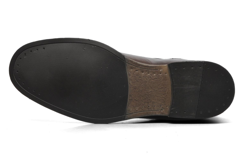 Bottines et boots Azzaro virtuose Marron vue haut