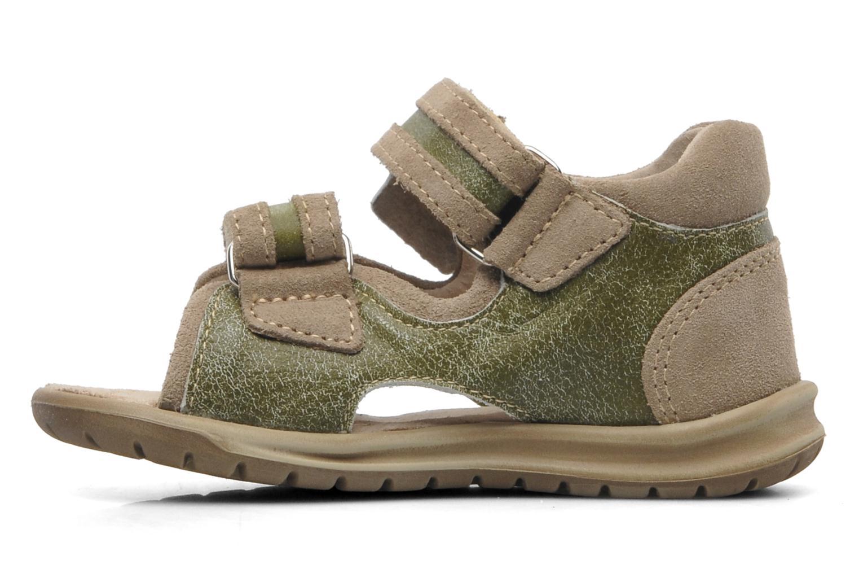 Sandales et nu-pieds Mod8 ILUX Vert vue face