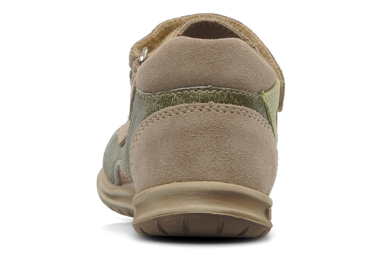 Sandales et nu-pieds Mod8 ILUX Vert vue droite