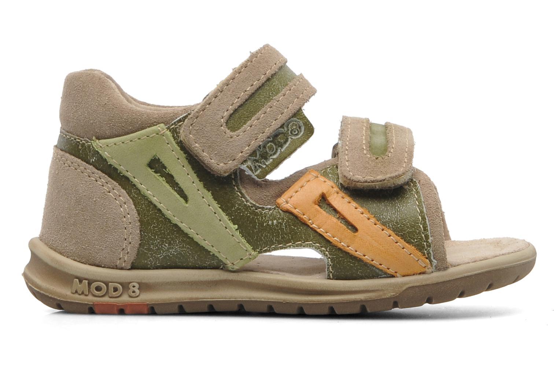 Sandalen Mod8 ILUX Groen achterkant