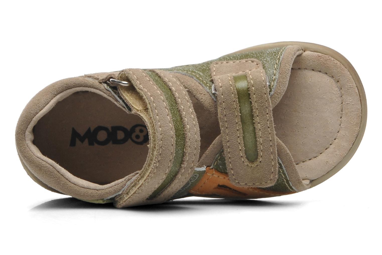 Sandalen Mod8 ILUX grün ansicht von links