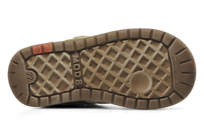 Sandales et nu-pieds Mod8 ILUX Vert vue haut