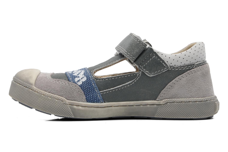 Chaussures à scratch Mod8 QUAMOD Gris vue face