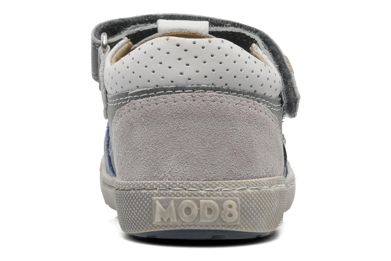 Chaussures à scratch Mod8 QUAMOD Gris vue droite