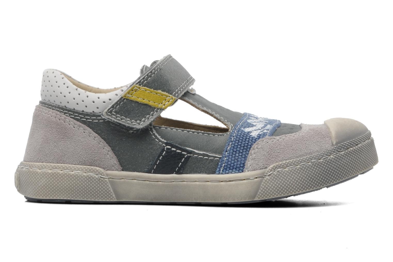 Chaussures à scratch Mod8 QUAMOD Gris vue derrière