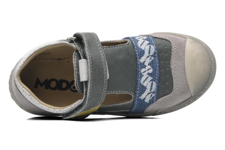 Chaussures à scratch Mod8 QUAMOD Gris vue gauche