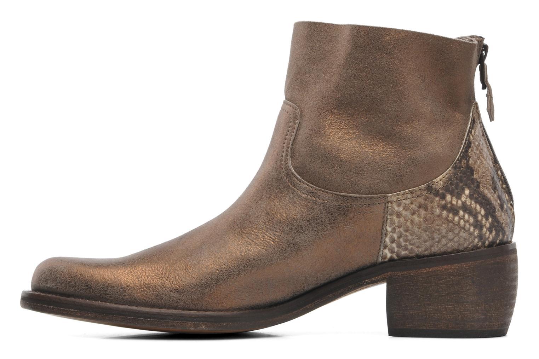 Bottines et boots Elizabeth Stuart Oman 591 Or et bronze vue face