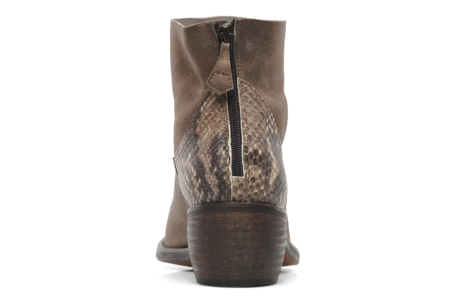 Ankle boots Elizabeth Stuart Oman 591 Bronze and Gold view from the right