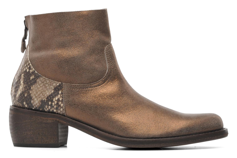 Bottines et boots Elizabeth Stuart Oman 591 Or et bronze vue derrière