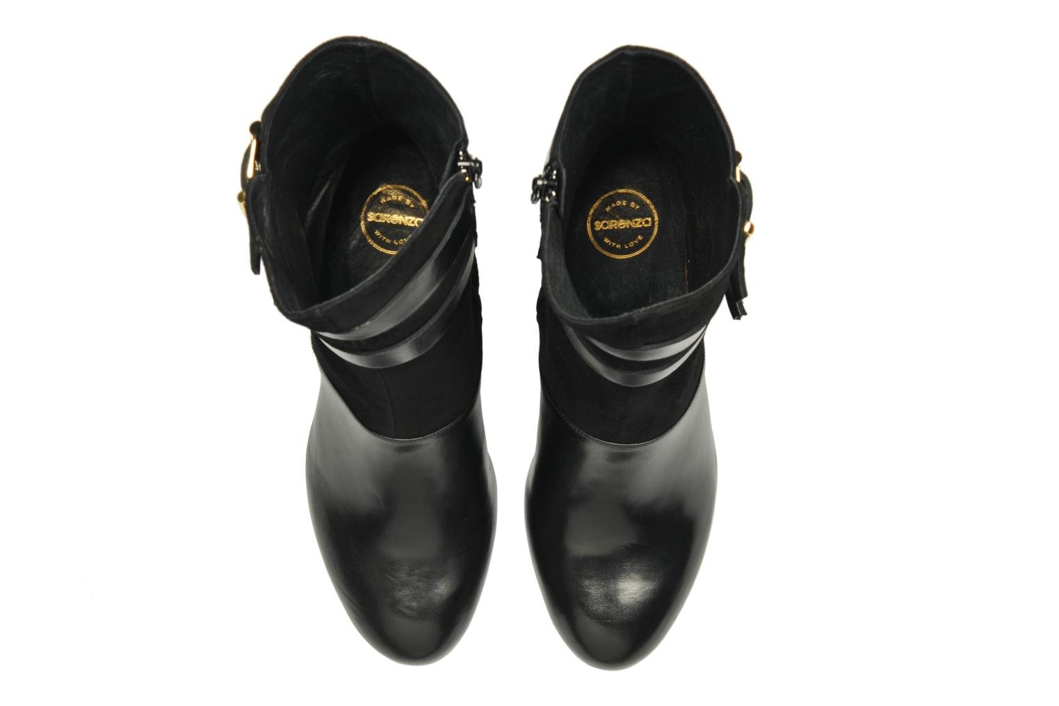 Ankle boots Made by SARENZA Rue des Dames #6 Black model view