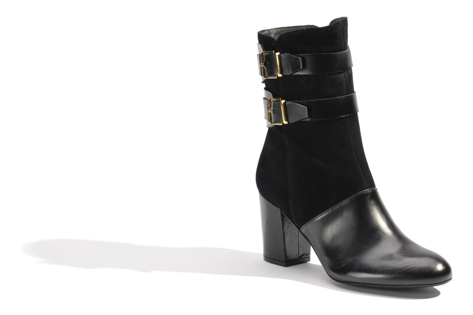 Ankle boots Made by SARENZA Rue des Dames #6 Black view from the right