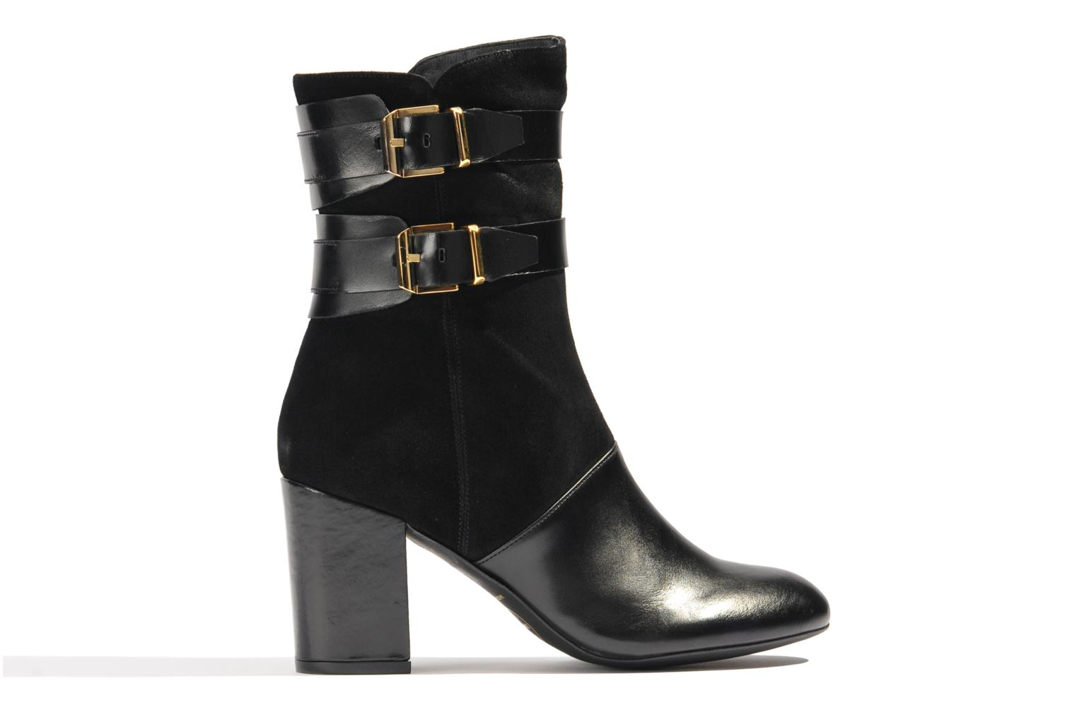 Ankle boots Made by SARENZA Rue des Dames #6 Black detailed view/ Pair view