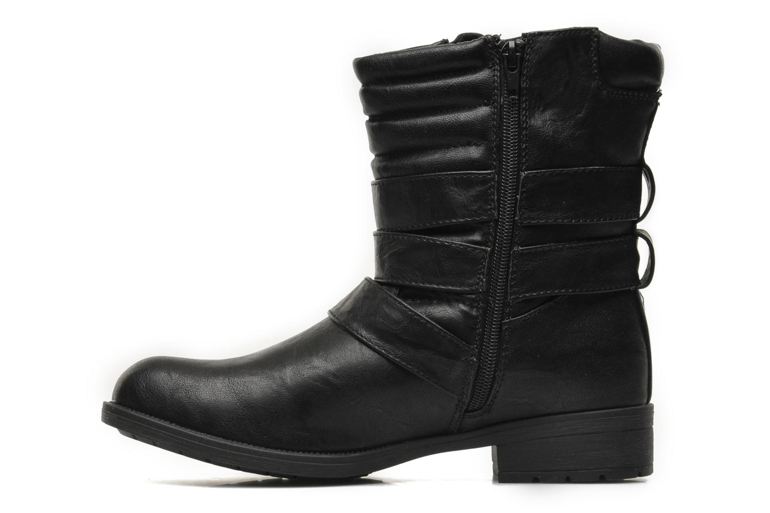 Ankle boots Divine Factory D-stars Black front view