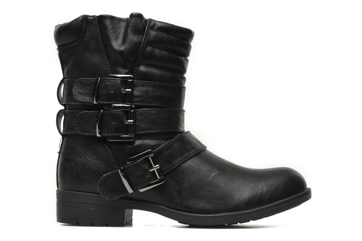 Ankle boots Divine Factory D-stars Black back view