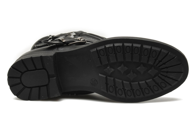 Stiefeletten & Boots Divine Factory D-stars schwarz ansicht von oben