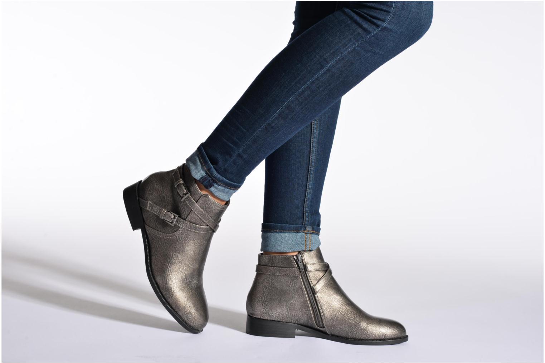 Stiefeletten & Boots Divine Factory D-cable braun ansicht von unten / tasche getragen
