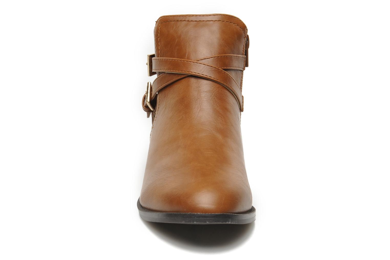 Stiefeletten & Boots Divine Factory D-cable braun schuhe getragen