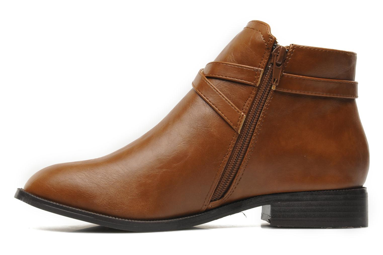 Boots en enkellaarsjes Divine Factory D-cable Bruin voorkant