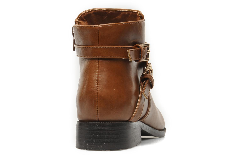 Boots en enkellaarsjes Divine Factory D-cable Bruin rechts