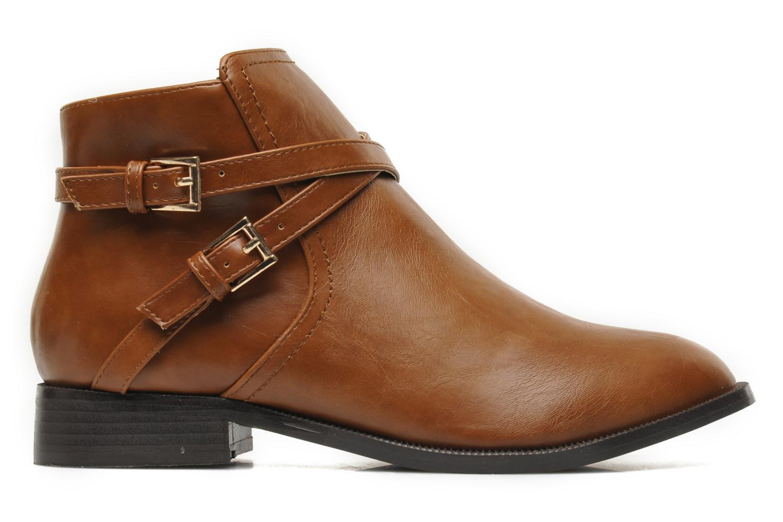 Boots en enkellaarsjes Divine Factory D-cable Bruin achterkant